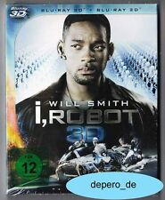 """I, ROBOT"" - SciFi Action - Will Smith - 3D + 2D BLU RAY im Pappschuber neu/OVP"