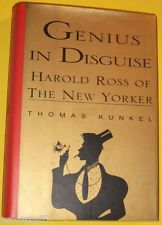 Genius In Disguise 1995 Harold Ross of the New Yorker Biography Nice Picture See
