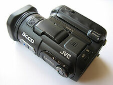 RARE MINT condition JVC GZ-MC500 professional 3CCD miniature media camcorder
