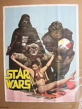 Vintage Star Wars mock funny parody Poster  2455
