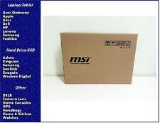 "NEW MSI GL62 6QF-1226 15.6"" Intel Core i5-6300HQ 2.3GHz 12GB 128GB SSD 1TB HDD"