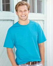 6 Blank Hanes Beefy 5180 T-Shirt Wholesale Bulk Lot ok to mix S-XL & Colors