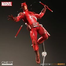 "MEZCO TOYZ ONE:12 COLLECTIVE Marvel's DAREDEVIL 6"" IN STOCK MIB DD FIGURE MILLER"