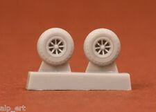 """resin P-40N 27"""" diamond tread wheels 1/72 SBS 72025"""