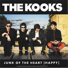THE KOOKS Junk Of The Heart [Happy] x2 mixes US PROMO 2011 CD Single Astralwerks