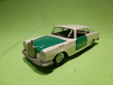 AUTO PILEN 305 MERCEDES BENZ 250 COUPE - POLIZEI POLICE - IN GOOD CONDITION