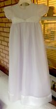 Organza Christening Gown 6 Months By Little Things Mean A Lot