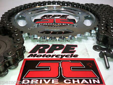 HONDA CBR250R '11/14 CHAIN AND SPROCKETS KIT JT X-Ring  OEM ,Quick Accel or Fwy