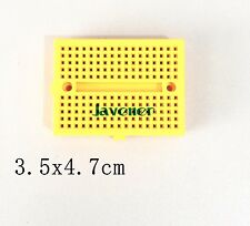 10PCS SYB-170 3.5x4.7cm Protoboard Brassboard Test PCB Yellow Mini Board