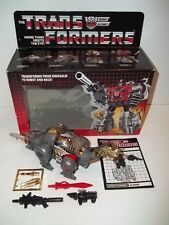 1985 Transformers G1 Dinobot **SLUDGE** MIB 100% Complete w/ Box C9.5 MINT