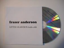 FRASER ANDERSON : LITTLE GLASS BOX ( RADIO EDIT ) [ CD SINGLE PORT GRATUIT ]