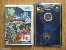 NEW JP IMPORT Nintendo Wii Dragon Quest X Version 1 in US