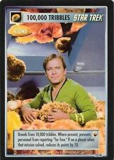 Star Trek CCG Reflections 100,000 Tribbles (Clone) Box Topper Foil BT