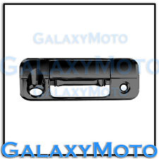 07-13 TOYOTA TUNDRA CREW MAX Triple Black Chrome Tailgate Handle+Camera Cover