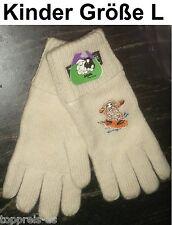 Handschuhe Bobbl Schaf Lammwolle Thinsulate Kinder L Wolle Wollhandschuh warm