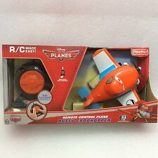 Disney RC Planes Mini Rides Remote Control Toy- DUSTY CROPHOPPER