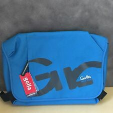 "NEW, Genuine Golla G1438 Fanta Blue 16"" Laptop Bag Messenger Style"