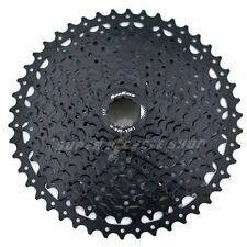 SunRace CSMS8 Wide Ratio Cassette 11-46T , 11 Velocidad, Negro