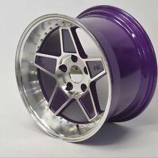 "Fyk BEI 16 "" 8J 9J ET15 RUOTE IN LEGA 4X100 euro DRIFT BMW E30 VW Golf MK1 MK2 MX5"