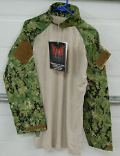 new Military Crye Precision Combat Shirt Custom w/ DRIFIRE - AOR Medium Reg