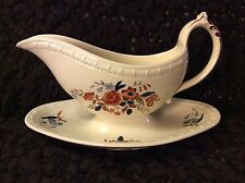 Spode Romney Gravy Boat Attached Stand on Centurion Shape Super from 1935