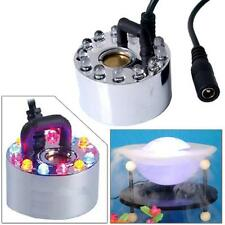 Mist Maker Fogger Mister Water Fountain Pond Atomizer Humidifier + Power Adapter
