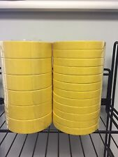"12 Rolls of 3M 6652 3/4"" Yellow Tape & 6 of 6654 1 1/2"" Tape Sleeve of Each"