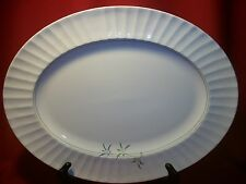 Royal Worcester China Green Bamboo Large  Oval Platter  !!!!FREE SHIPPING!!!!