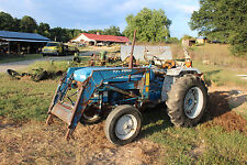 FORD 1910 COMPACT TRACTOR 771 LOADER & BUCKET ONLY FARMERJOHNSPARTS 404 569-3093
