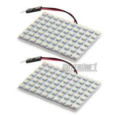 2x Auto 70 SMD3528 LED Panel Beleuchtung DC12V + T10/BA9S/Soffite Fassung Weiß