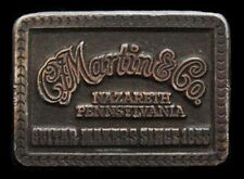 NF11156 VINTAGE 1975 **C.F. MARTIN & CO. GUITAR MAKERS** MUSIC BRASSTONE BUCKLE