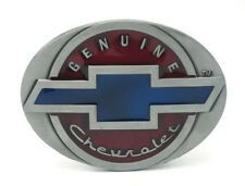 Genuine Chevrolet Logo Belt Buckle solid metal Chevy Classic Impala
