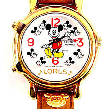 Mickey Mouse Musical, New 2 Tunes Seiko Lorus, HTF Watch Unworn RWC020 Only $129