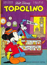 [775] TOPOLINO ed. Mondadori 1968 n.  637 stato Buono