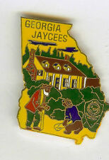 DISNEY RARE UNCLE REMUS & BRER BEAR CABIN SONG of the SOUTH JAYCEES 1978 PIN
