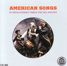 AMERICAN SONGS (Revolutionary Times and The Civil War Era) CD [B14]