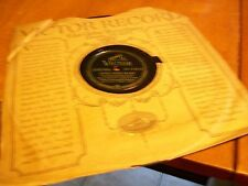 TOMMY DORSEY HONG KONG BLUES / YOU CAME ALONG 78 RPM RECORD ALBUM