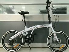 "20"" folding bikes, 7 speed,free carrying bag, slight defect sold as is"