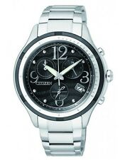 Citizen Eco-Drive Ladies Solar Power Chronograph with Sapphire Glass. FB1376-54E