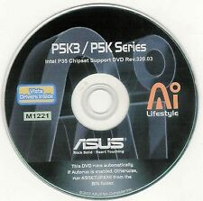 ASUS P5K AND P5K3 DELUXE Motherboard Drivers Installation Disk M1221