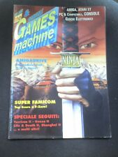 THE GAMES MACHINE 29 Marzo 1991 TURRICAN 2  PRINCE OF PERSIA F ZERO MUSHA ALESTE