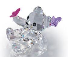 Swarovski  Bear Kris Playful  Butterflies  1143450     New