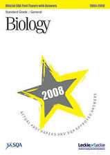 SQA Biology Standard Grade (General) SQA Past Papers 2008 Very Good Book