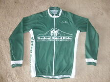 MENS Bike Jersey sz SMALL Long Sleeve Cycling Road Race FULL ZIP BARLOW YOUTH SZ