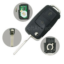 Flip Key 433MHz Chip fit for SKODA Octavia Remote Fob 1J0 959 753 N DA8000CB