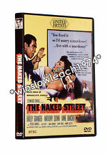THE NAKED STREET DVD (1955) Anthony Quinn Anne Bancroft Farley Granger RARE!