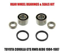Rear Wheel Bearing/Seal Set Toyota Corolla GTS AE86 RWD 84-87 Left & Right