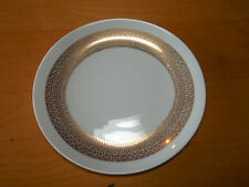 Mikasa Tempo Seventy MIDAS 5894 Set of 7 Oval Salad Plates 8 5/8 in Gold