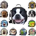 Cute Cool Insulated Lunch Pack Bag Kids Girls Boys School Picnic Food Cooler Box