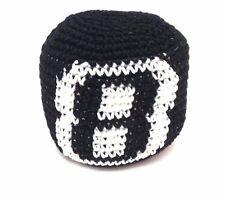 8 BALL HACKY SACK FOOTBAG CROCHETED GUATEMALAN KICK BAG NEW